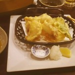 明石の魚処 さかづき - タコの天ぷら580円