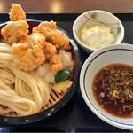 丸亀製麺 - 鶏天ざるうどん