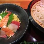 山久 - ざる海鮮づけ丼993円