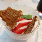 アイボリー - 白桃とベリーのクープ 昔食ったアイスクリームのパナップのグレープ味に似てました。