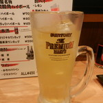 中村屋 - 緑茶酎ハイ