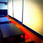 和食ダイニング・白鷺亭 - ご宴会に最適なスクリーンで仕切れる半個室です。4~20名様でご利用頂けます。掘りごたつ式で足も延ばせて快適です。