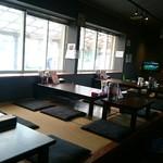 日の出製麺 保内工場 - 店内:お座敷席