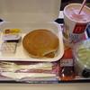 マクドナルド - 料理写真:ホットケーキセット(\520)