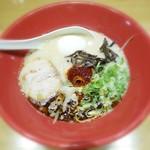 55069376 - 赤丸新味¥850 +半熟塩玉子¥100