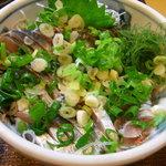 魚玉 - イワシ刺
