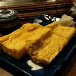座酒菜 - 玉子焼き:680円