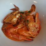 エノテカ・リオーネ - 渡り蟹のトマトクリ  ームソース