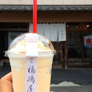 福嶋屋 製菓舗 - ドリンク写真:なめらか氷(生ロールバニラ) 2016.08.16
