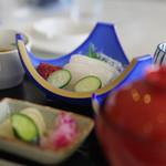 札幌国際カントリークラブ - 朝イカの刺身定食¥1,000-