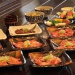 日比谷三源豚 - 焼肉おまかせコース