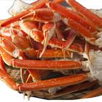 日比谷三源豚 - ずわい蟹&大赤海老も食べ放題にプラス☆.。.:*・