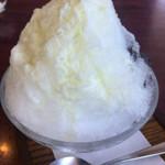 漁眠洞 - 料理写真:練乳がたっぷり