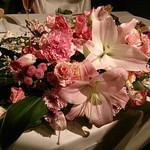 cafe Mode - お店にお願いした装花