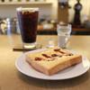 吉岡コーヒー - 料理写真:モーニングはエッグトースト付き☆