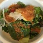 霜降りハンバーグとステーキの店 鉄重 - 【2016.8.19】サラダ。