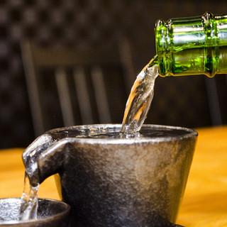全国各地のこだわり日本酒、揃ってます!