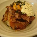 ツバサ食堂 - 和牛ローストビーフ丼