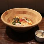 山田食堂 - まんぷくボールサラダ☆