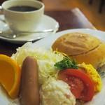 珈琲館 くすの樹 - 料理写真:モーニング