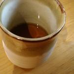 甘味喫茶 おかげ庵 - 冷たいお茶