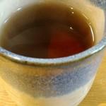 甘味喫茶 おかげ庵 - 熱いお茶