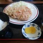 55092659 - ・からあげ定食(はね) 720円
