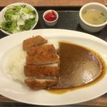 55093372 - 道産豚のカツカレー ¥1,280