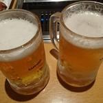 焼肉バイキング ウエスタン 網走店 - ビール
