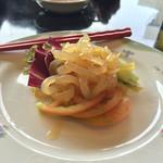 中国料理 龍鱗 彦根本店 - クラゲの冷菜580円