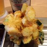天ぷらめし 天之助 - 野菜かき揚げ
