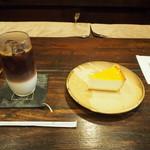 廣屋珈琲店 - デリチュースのチーズケーキと共に
