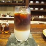 廣屋珈琲店 - アイスカフェオレ