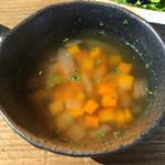 ころも農園 - 野菜スープ