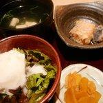 粋な男の料理 飲みくい庵 HASSIN - お吸い物、マリネ、サラダ(ポテサラ)、お漬物