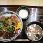 さか井 - 鉄火丼(550円)
