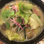 ガスト - 1日分の野菜のベジ塩タンメン