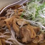 山形飛島 亞呉屋 - 冷たい肉蕎麦