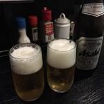 山形飛島 亞呉屋 - まずはビールで