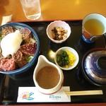 道の駅 宍喰温泉 レストラン アリタリア - 鰹酒盗丼