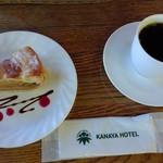 コーヒーハウス ユーコン - ケーキセット 1,060円