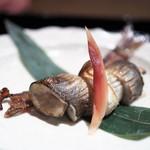 帰燕 - 料理写真:焼物 鮎の風干し 骨せんべい
