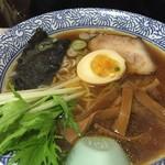 もりもり亭 - 和風煮干しラーメン(670円)