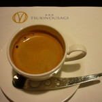 鉄板焼 ツキノウサギ - デミタスコーヒー