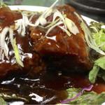 一創 - 黒酢の酢豚
