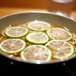 豪龍久保 - 冷ヘベス蕎麦