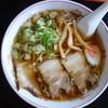 Himawari - 料理写真:ラーメン(¥550税込み)魚介系スープとなりますが、何気に味わいは深い。ビジュアルも素晴らしい