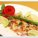 55109003 - 北海道産ホタテと白身魚のインディアンカルパッチョ