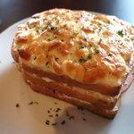 ウミネコ喫茶店 - 料理写真:ダブルクロックムッシュ。