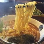 55110172 - 『焼きアジ醤油』麺リフト